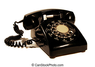 Retro rotary phone made by northern electric