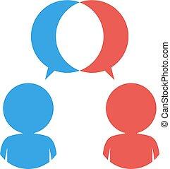 dialog symbol design - Creative design of dialog symbol