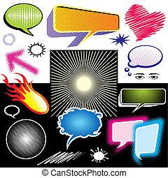 Dialog Symbol Graphic - Vector illustration of dialog symbol...
