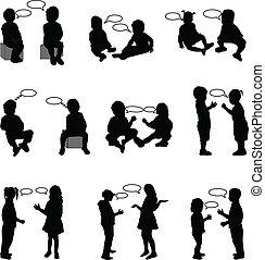 dialogue children