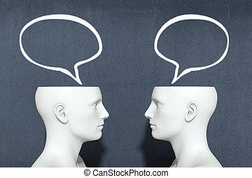 dialogue, concept