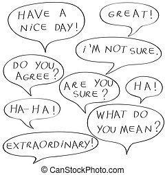 dialogue doodle