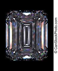 diamant, émeraude
