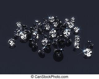 diamant, 3d