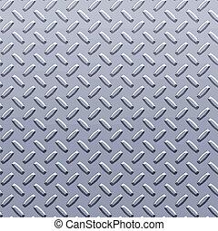 diamant, acier, plaque