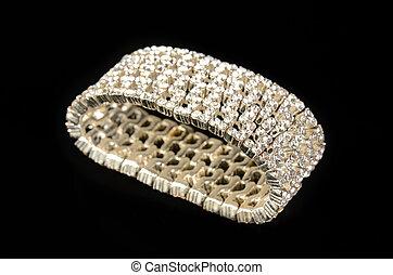 diamant, armband