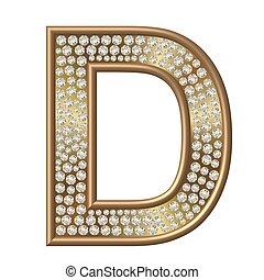 diamant, caractère, d