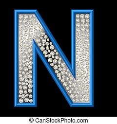 diamant, caractère, n