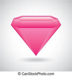 diamant, conception