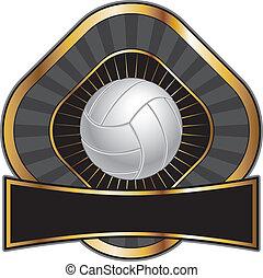 diamant, conception, volley-ball, gabarit
