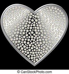 diamant, hart