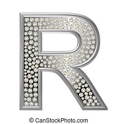 diamant, r, caractère