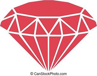 diamant, rouges