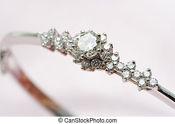 diamant, schmuck