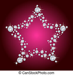 diamant, stjärna