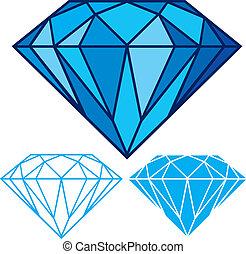 diamante blu