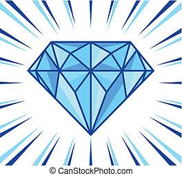 diamante, brilho