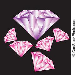 diamante, corte