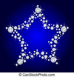 diamante, estrela