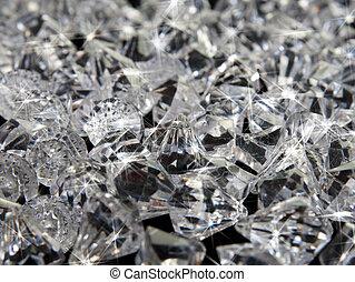 diamante, fundo