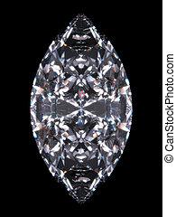 diamante, marquise
