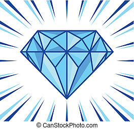diamante, splendere