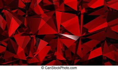 Loopable Bokeh Sfondo Rosso Hd Bello Installazioni Condotto