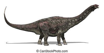 Diamantinasaurus Dinosaur - The diamantinasaurus was a very...