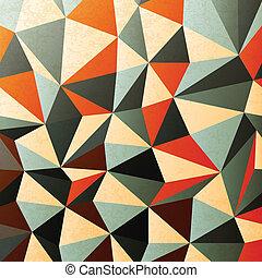 diament, eps10, mający kształt, pattern., abstrakcyjny, ...