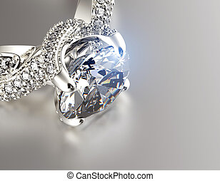diamond., リング, 宝石類, 背景, 結婚式
