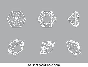 diamond., 形, コレクション