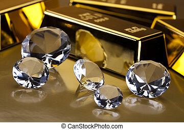 Diamond and gold - Diamond and gold