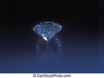 Diamond background.