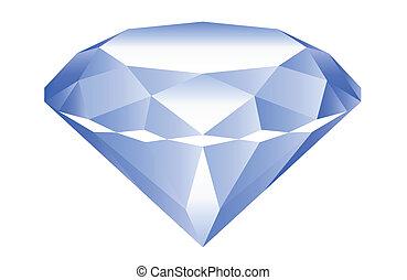 diamond - blue diamond