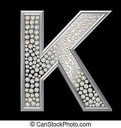 Diamond Character K