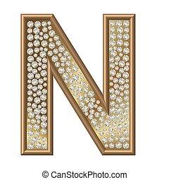 Diamond Character N
