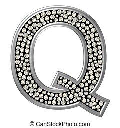 Diamond Character Q