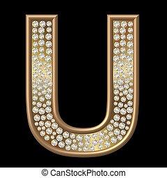 Diamond Character U