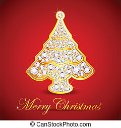 Diamond Christmas Tree