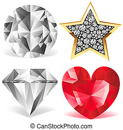 Diamond Collection - A collection of various diamonds.