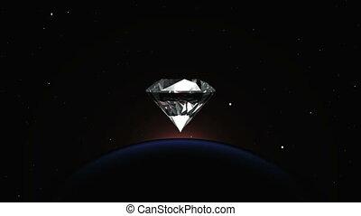 diamond  - planet and%u3000diamond