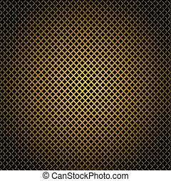 diamond gold grill background