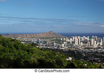 Diamond Head Crater, Oahu, Hawaii