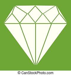 Diamond icon green