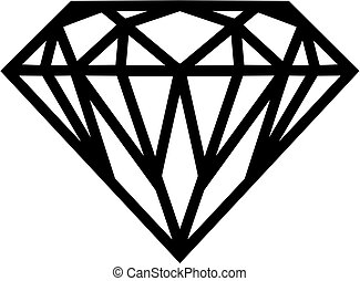 Diamond icon with details