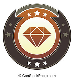 Diamond imperial button