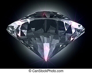Diamond in the light