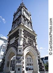 Diamond Jubilee Clock Tower in Christchurch New Zealand.