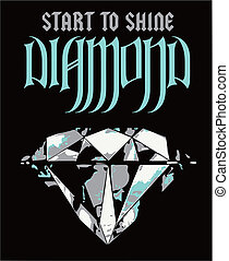 Diamond Luxury Poster