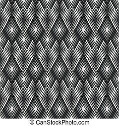 Diamond Outline_Black-White